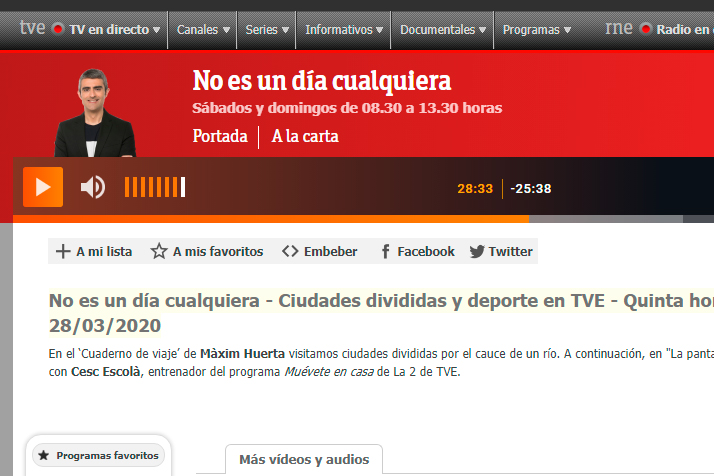 La quinta Hora RTVE